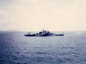 USS_Tennessee_bombarding_Guam